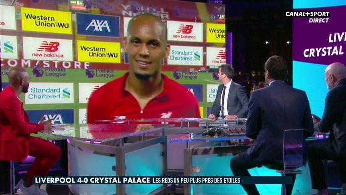 Fabinho se confie au micro de CANAL+SPORT après sa sublime prestation : Premier League