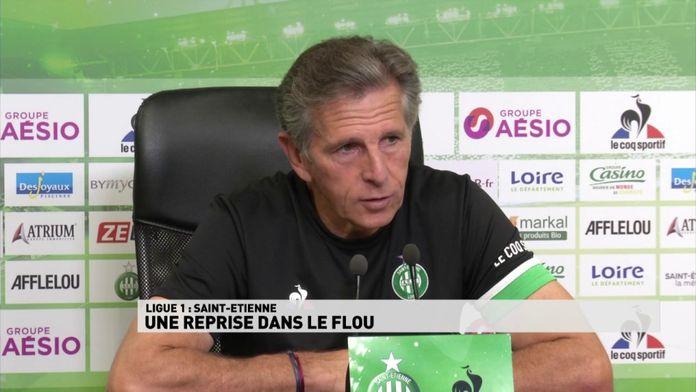 Saint-Etienne une reprise dans le flou : Ligue 1