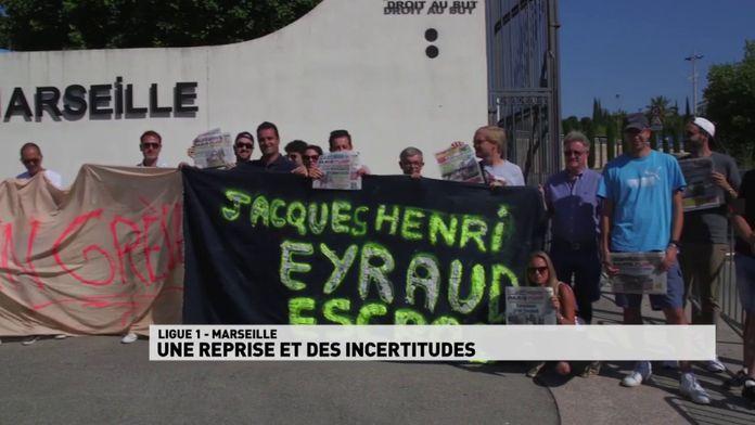 Marseille une reprise et des incertitudes sur les investissements dans le club : Reprise Ligue 1