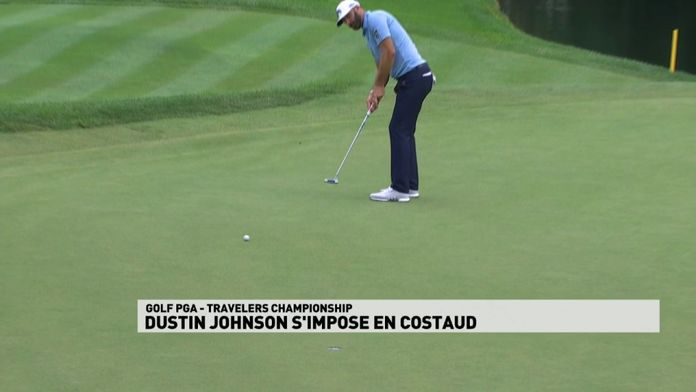 Dustin Johnson s'impose en costaud : PGA Tour
