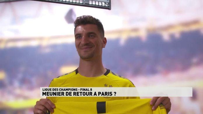 Dortmund prêt à laisser Thomas Meunier rejouer avec le PSG en Ligue des champions : Mercato