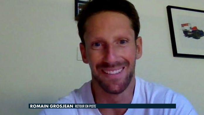 Retour en piste pour Romain Grosjean : Formule 1