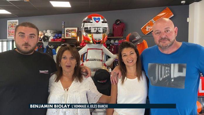 L'émotion de Benjamin Biolay au message de la famille de Jules Bianchi : Formule 1