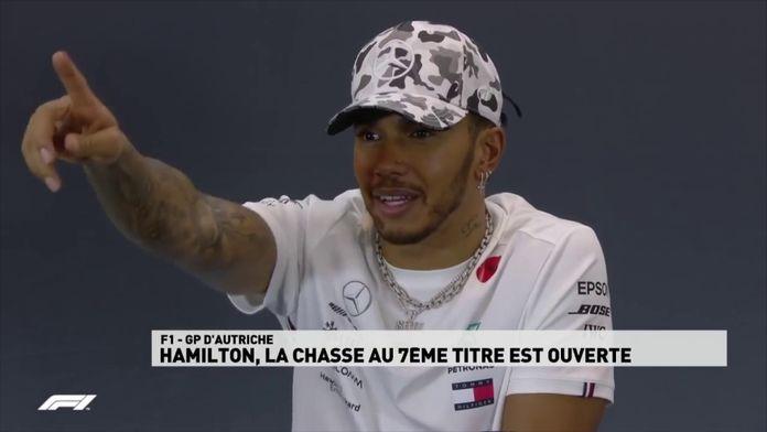 Lewis Hamilton, la chasse au 7ème titre de Champion du monde est ouverte : Formule 1