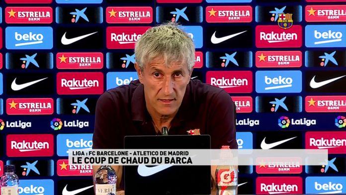 Le coup du chaud du Barça avant son match contre l'Atletico de Madrid : Liga