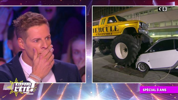 Spécial 3 ans : Matthieu Delormeau doit répondre à des questions pour sauver sa voiture