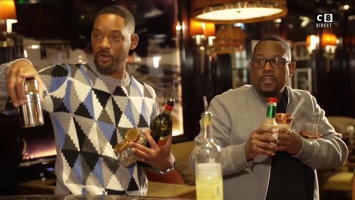 Le sketch entre Will Smith, Martin Lawrence et Cyril Hanouna pour TPMP