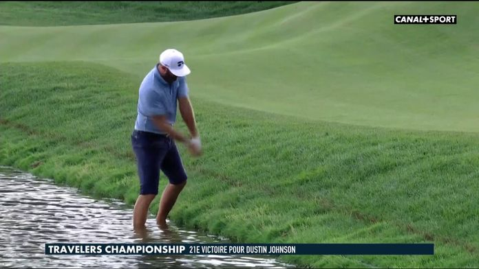 Dustin Johnson prend un bain de pieds : Golf+ Le Mag
