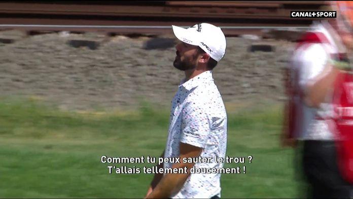 Certains joueurs portaient des micros sur le parcours : Golf+ Le Mag
