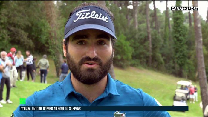 Antoine Rozner une très bonne reprise avant les choses sérieuses : Golf+ le mag