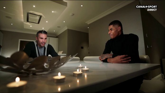 Rashford / Van Persie, la rencontre : Interview
