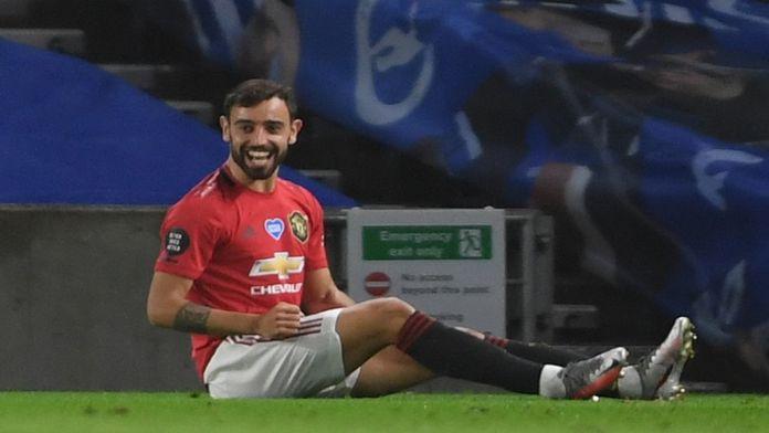 Le résumé de Brighton / Manchester United, le show Bruno Fernandes : Premier League - [??]e journée