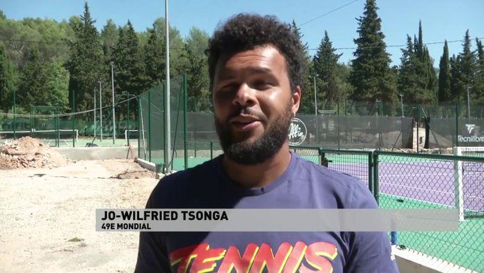 Jo-Wilfried Tsonga au service du tennis : Tennis