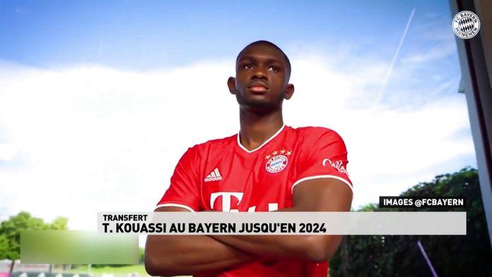 Tanguy Kouassi au Bayern de Munich jusqu'en 2024 : Transfert