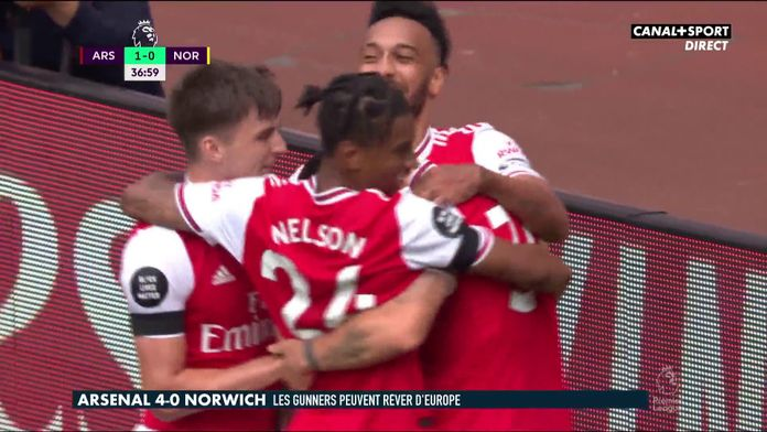 Le résumé d'Arsenal / Norwich : Premier League - 32e journée