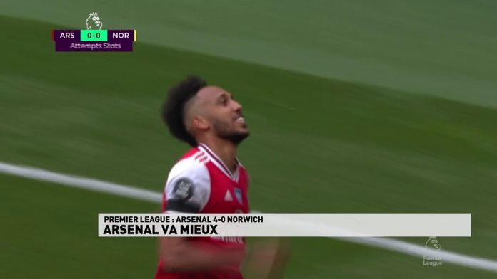 Pierre-Emerick Aubameyang mieux que Thierry Henry : Premier League
