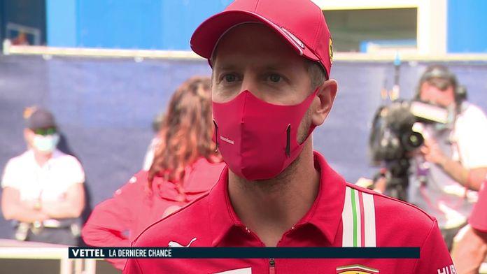 """Les révélations fortes de Sebastian Vettel : """"J'ai toujours voulu continuer avec Ferrari"""" : Formule 1"""