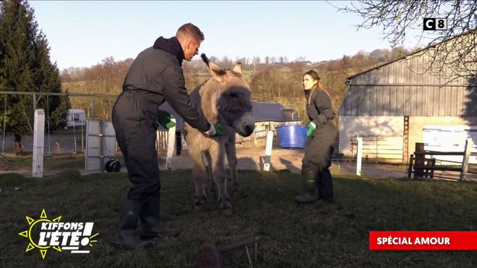 Spécial Amour : Matthieu Delormeau et Capucine Anav à la ferme !