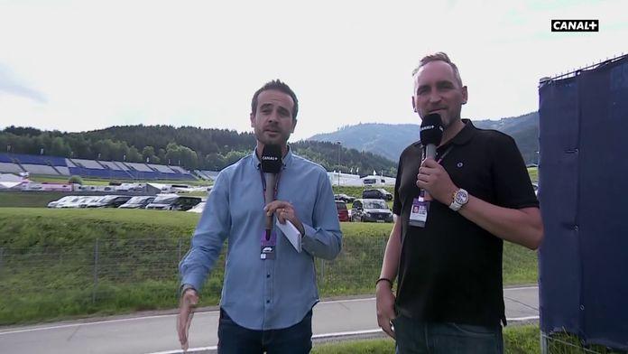 Laurent Dupin et Franck Montagny dans les coulisses du Red Bull Ring : Formule 1