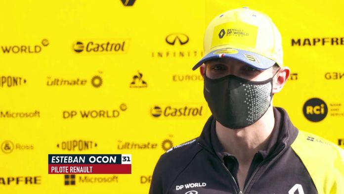 """Ocon : """"Cool de refaire partie de ce grand cirque"""" : Formule 1"""