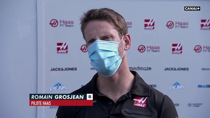 Grosjean, son abandon prématuré en ES1 - GP d'Autriche : GP d'Autriche - Formule 1