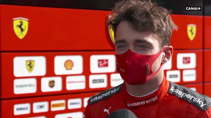 """Leclerc : """"Une journée très difficile"""" : GP d'Autriche"""