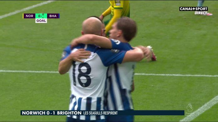Le résumé de Norwich / Brighton : Premier League - 33e journée