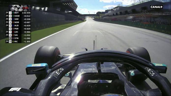 Bottas en pôle ! : GP d'Autriche