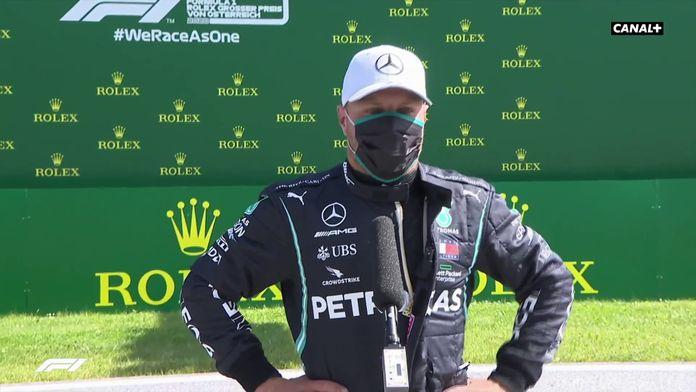 """Bottas : """"Ça fait vraiment du bien !"""" : GP d'Autriche"""