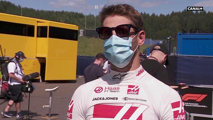 """Grosjean : """"Un rythme de qualif pas extraordinaire"""" : GP d'Autriche"""
