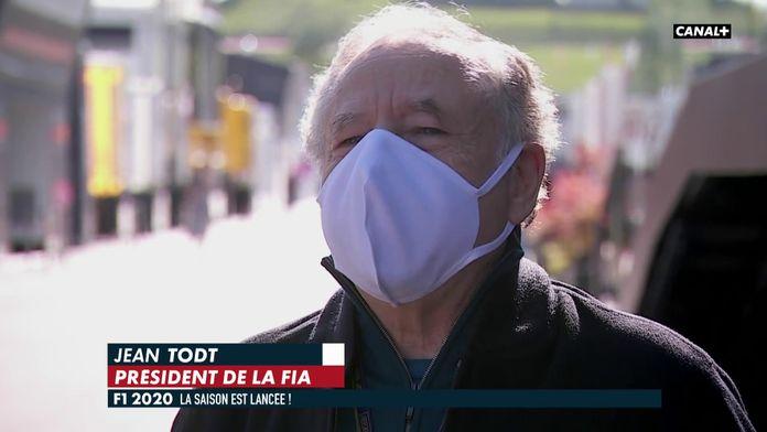 Jean Todt : du public en septembre ? : Formule 1