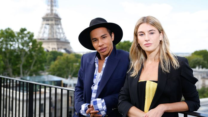 FASHION PORTRAITS - OLIVIER ROUSTEING