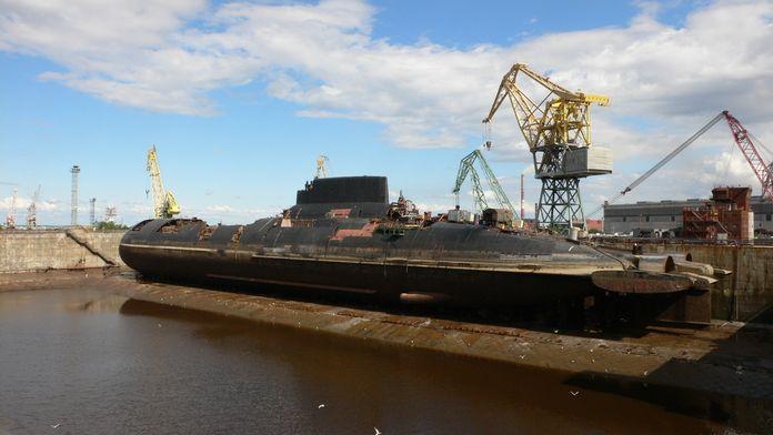 Mega structures : Le Sous-marin soviétique