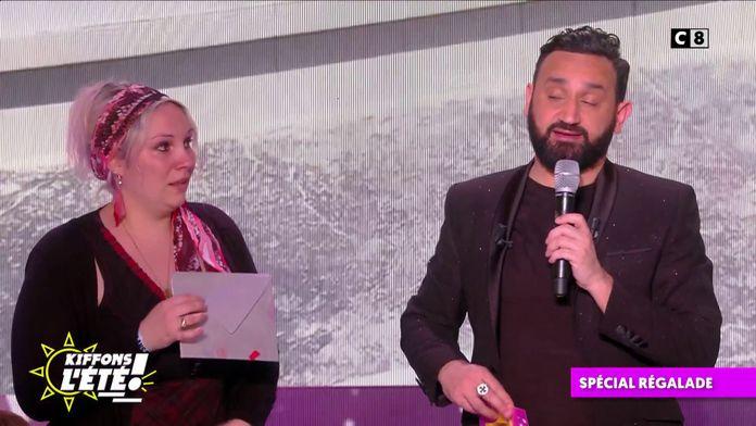Spécial régalade : Cyril Hanouna couvre de cadeaux à une assistante de vie