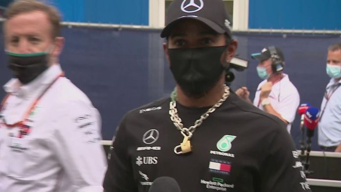 Lewis Hamilton une voix qui porte : Formule 1