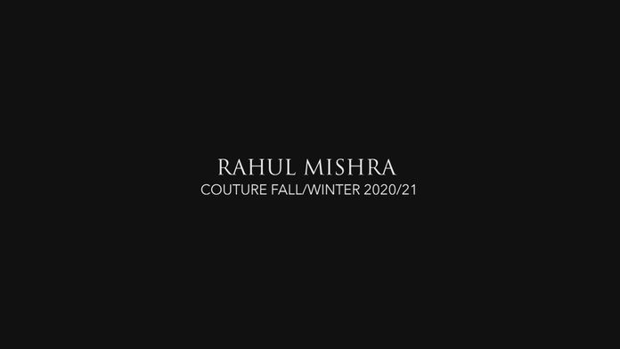 Fashion FilmsFASHION FILMS - HAUTE COUTURE - RAHUL MISHRA