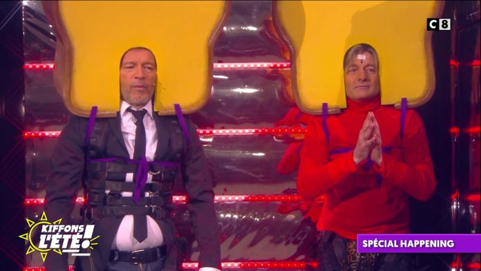 Spécial happening : Jean-Michel Maire et Gilles Verdez se font sauter en biscotte