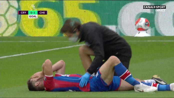 La blessure de Cahill juste avant