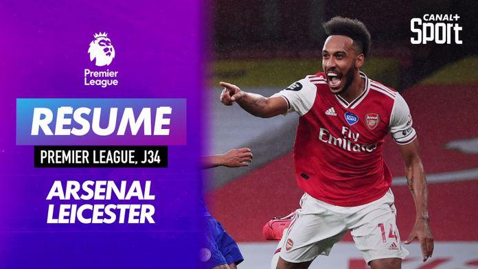 Le résumé d'Arsenal - Leicester :
