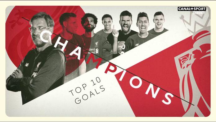 Le TOP 10 des buts de Liverpool ce