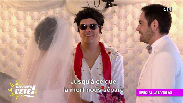 Spécial Las Vegas : La cérémonie de mariage de Cyril Hanouna et Camille Combal