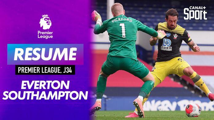 Le résumé d'Everton / Southampton