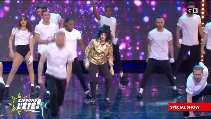 Spécial show : Isabelle Morini-Bosc se la joue Michael Jackson