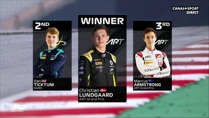 Victoire de Christian Lundgaard su