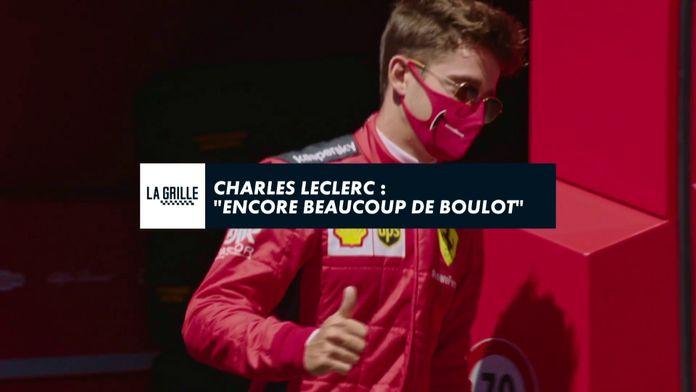 """Charles Leclerc : """"Encore beaucoup"""