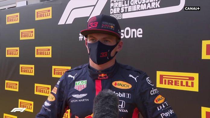 "Max Verstappen : ""J'étais juste un"