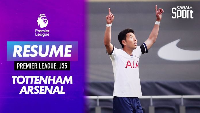 Les buts du derby Tottenham - Arse