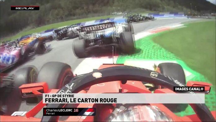 Ferrari, le carton rouge