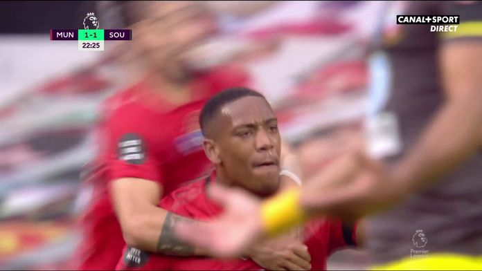 Le sublime but d'Anthony Martial c