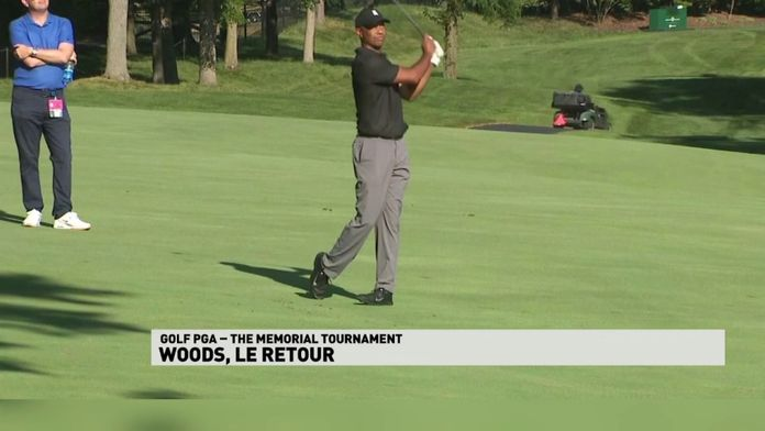 Tiger Woods, le retour